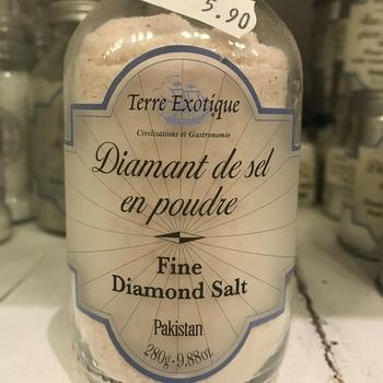 Diamant de sel en poudre