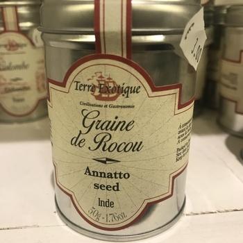 Graine de Rocou