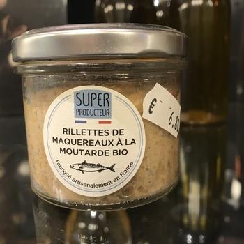 Rillettes de maquereaux à la moutarde Bio